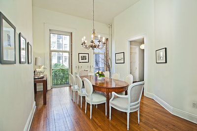 Goldcoast Townhouse Dining Room